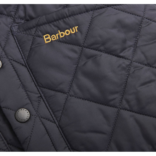 Cheap BARBOUR BOY\'S LIDDESDALE QUILTED GILET Navy Sale