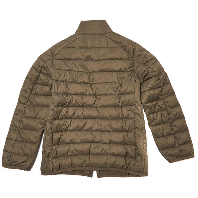 Barbour B.INTL CROSSOVER QUILTED JACKET Boys Olive Outlet Store