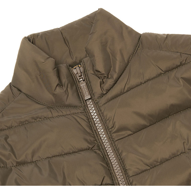 Cheap Barbour Boys Olive B.INTL CROSSOVER QUILTED JACKET Online
