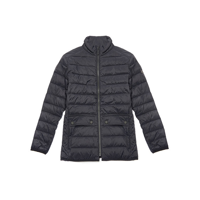 Barbour B.INTL CROSSOVER QUILTED JACKET Boys Black Outlet Store