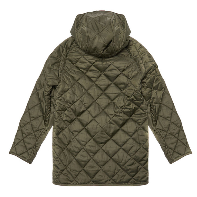 Cheap BARBOUR BORDER LIDDESDALE QUILTED JACKET Sage Sale
