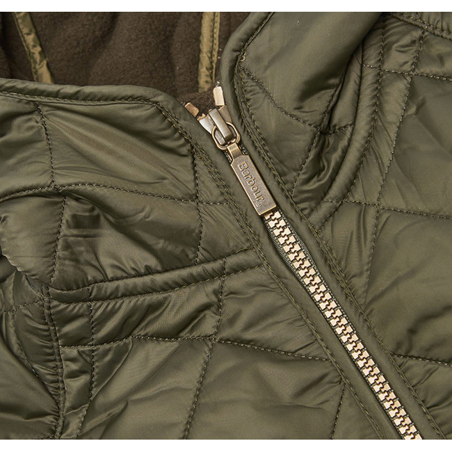 Barbour BORDER LIDDESDALE QUILTED JACKET Boys Sage Outlet Store
