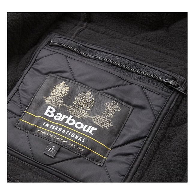 Cheap BARBOUR BOY\'S ARIEL POLARQUILT QUILTED JACKET Black  Sale