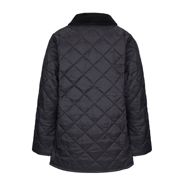 Cheap Barbour Boys Black LIDDESDALE QUILTED JACKET Online