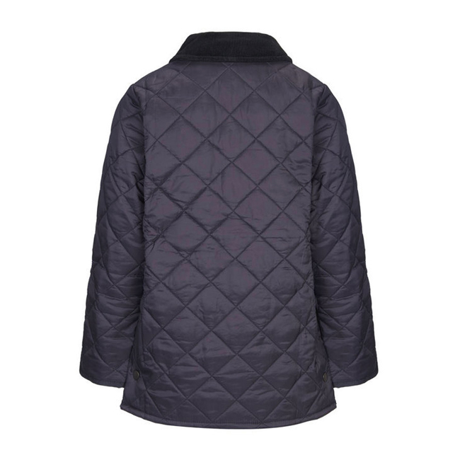 Cheap BARBOUR BOY\'S LIDDESDALE QUILTED JACKET Navy Sale