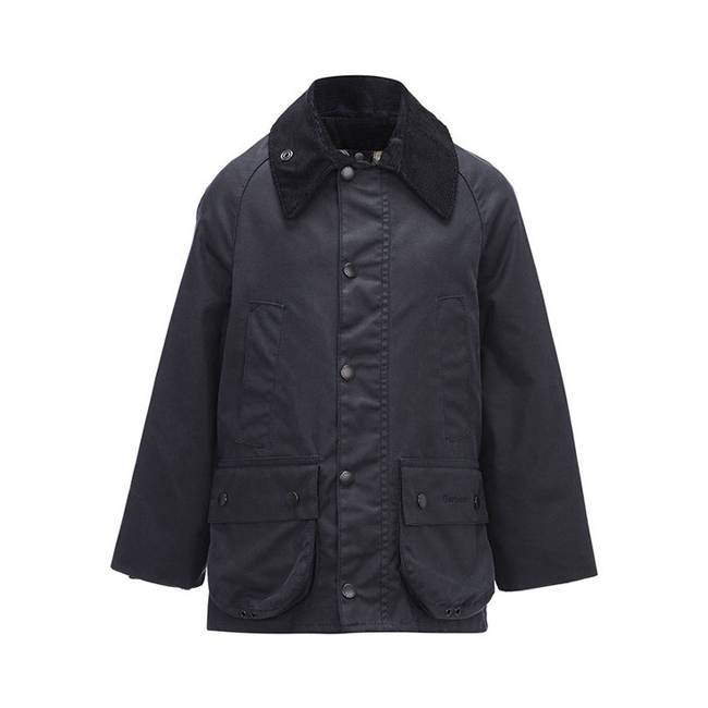 Cheap Barbour Boys Navy CLASSIC BEDALE WAX JACKET Online