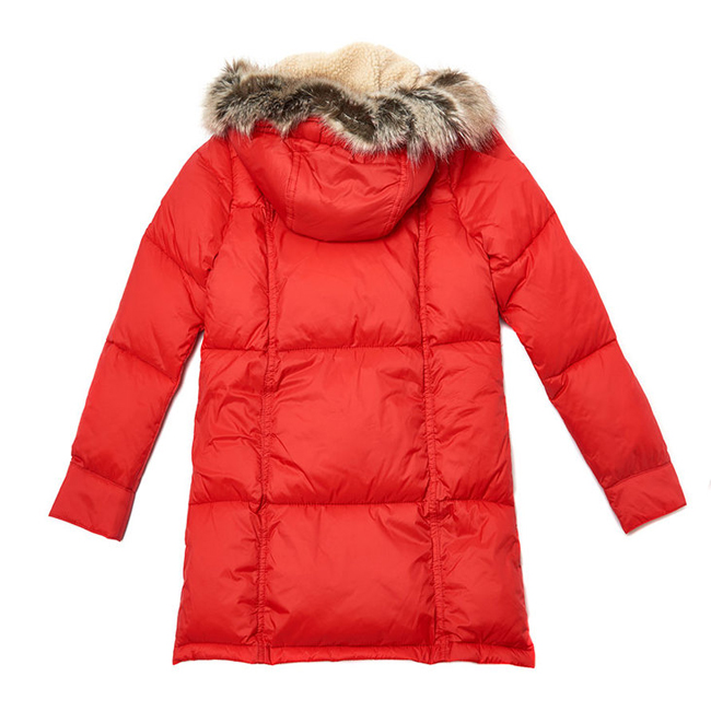 Barbour ICEFIELD QUILTED JACKET Girls Lighthouse Red Outlet Store