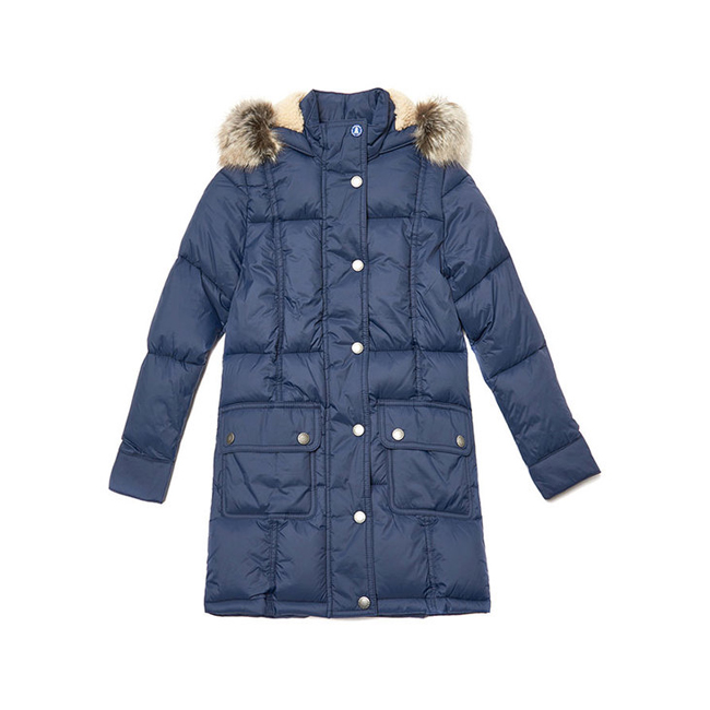 Cheap Barbour Girls Royal Navy ICEFIELD QUILTED JACKET Online