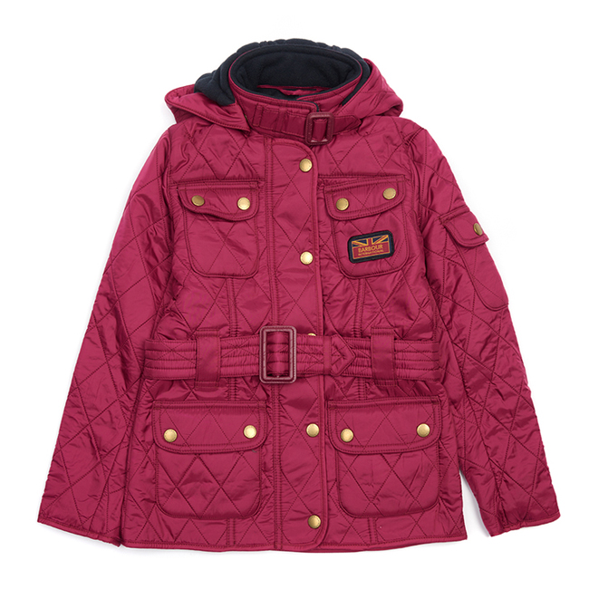Cheap Barbour Girls Juniper B.INTL VIPER QUILTED JACKET Online