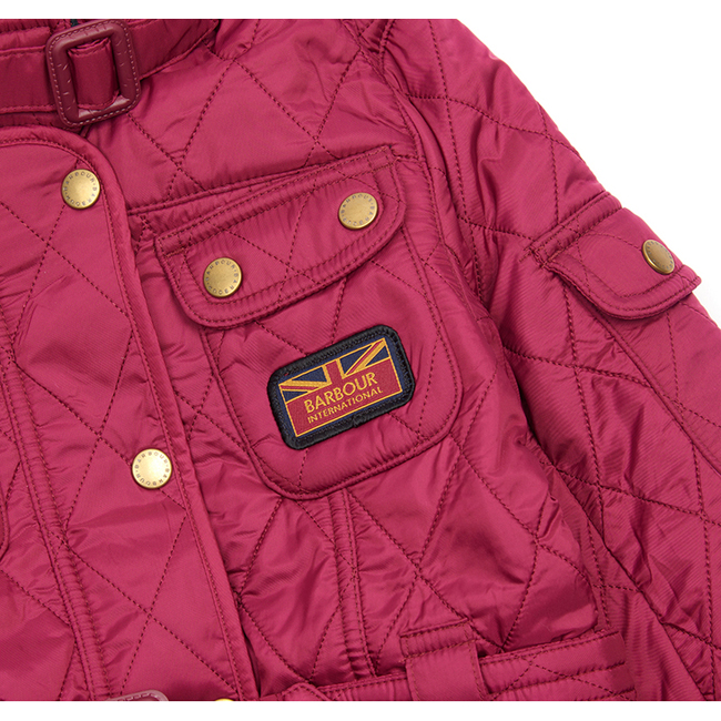 Barbour B.INTL VIPER QUILTED JACKET Girls Juniper Outlet Store