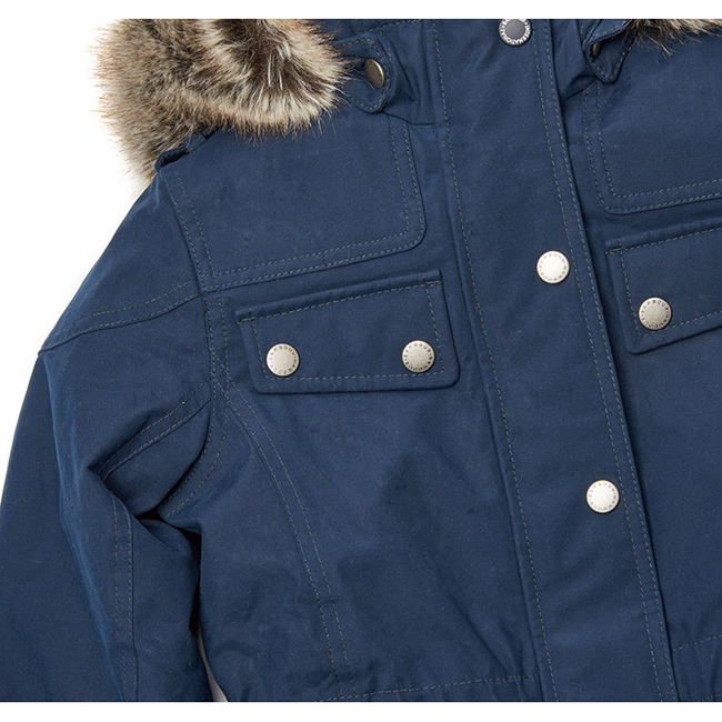 Cheap Barbour Girls Navy B.INTL IMPELLER WATERPROOF BREATHABLE JACKET Online