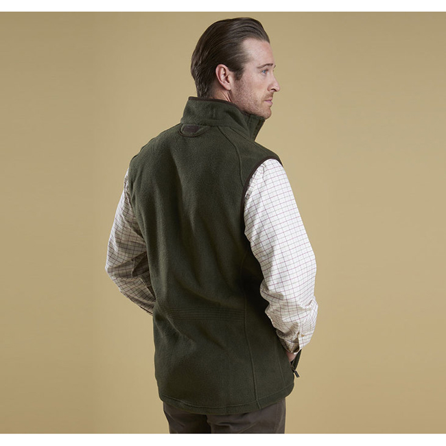 Barbour LANGDALE GILET Men Olive Outlet Store