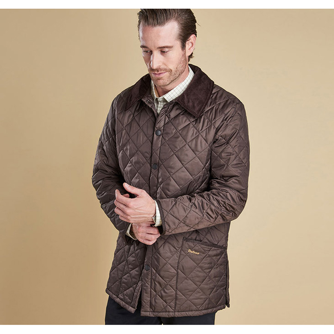 Cheap Barbour Men Rustic LIDDESDALE QUILTED JACKET Online