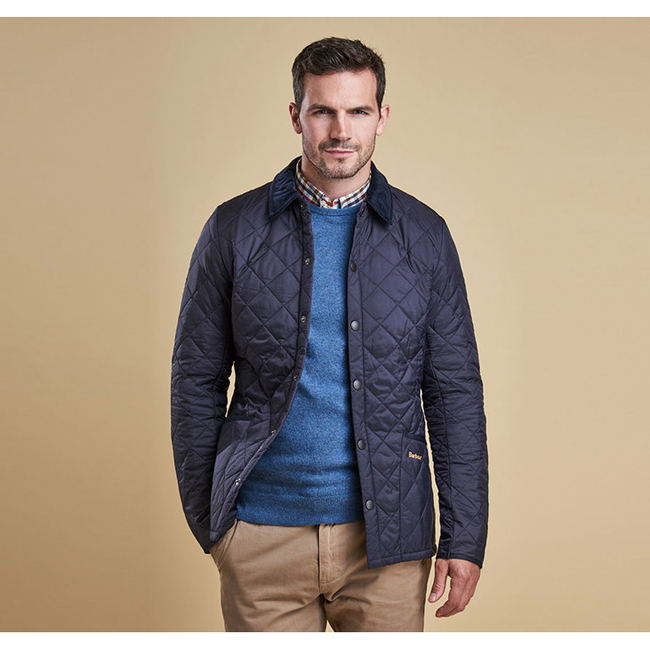 Cheap BARBOUR HERITAGE LIDDESDALE QUILTED JACKET Navy Sale