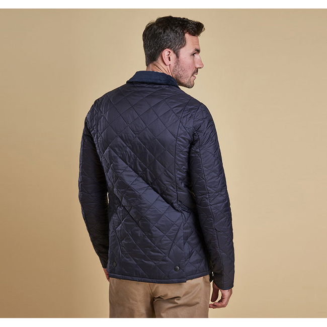 Barbour HERITAGE LIDDESDALE QUILTED JACKET Men Navy Outlet Store