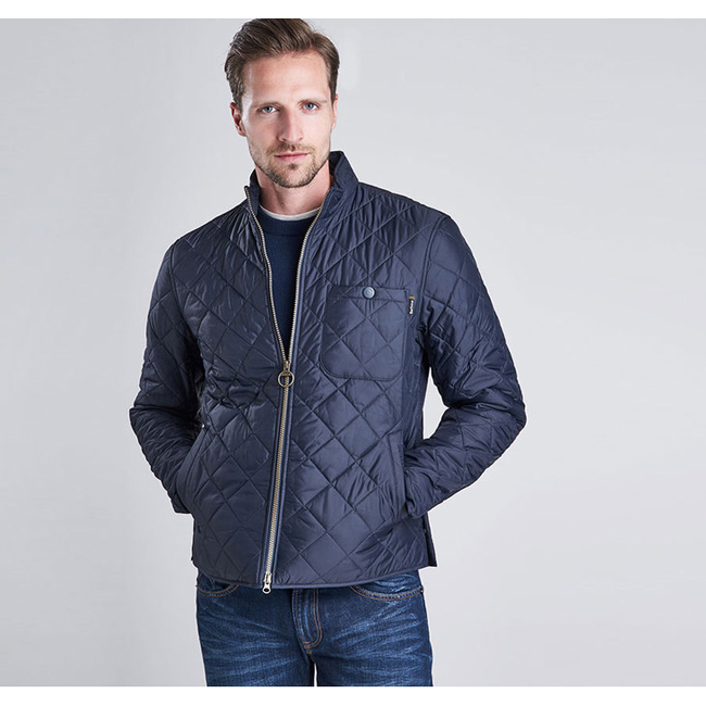 Cheap B.INTL AXLE QUILTED JACKET Navy Sale