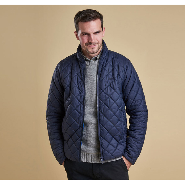 barbour rowlock quilted jacket