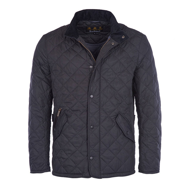 Barbour CHELSEA SPORTSQUILT JACKET Men Navy Outlet Store