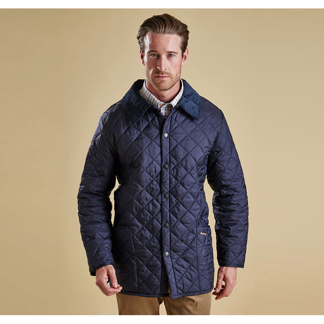 Cheap Barbour Men Navy LIDDESDALE QUILTED JACKET Online