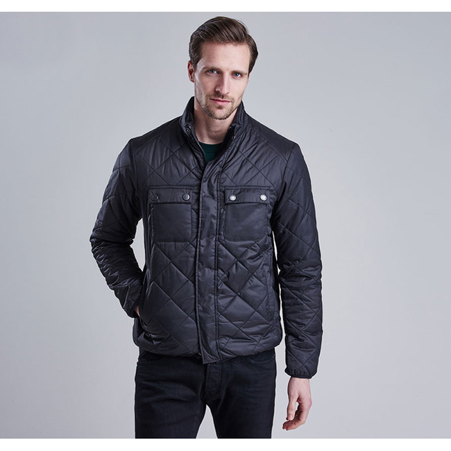 Cheap B.INTL FAIRING QUILTED JACKET Black Sale