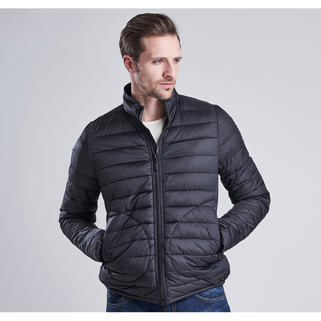 Cheap B.INTL STEVE MCQUEEN BAFFLE QUILTED JACKET Black Sale