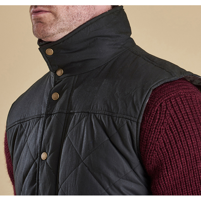 Cheap BARBOUR BOXLEY QUILTED GILET Olive Sale