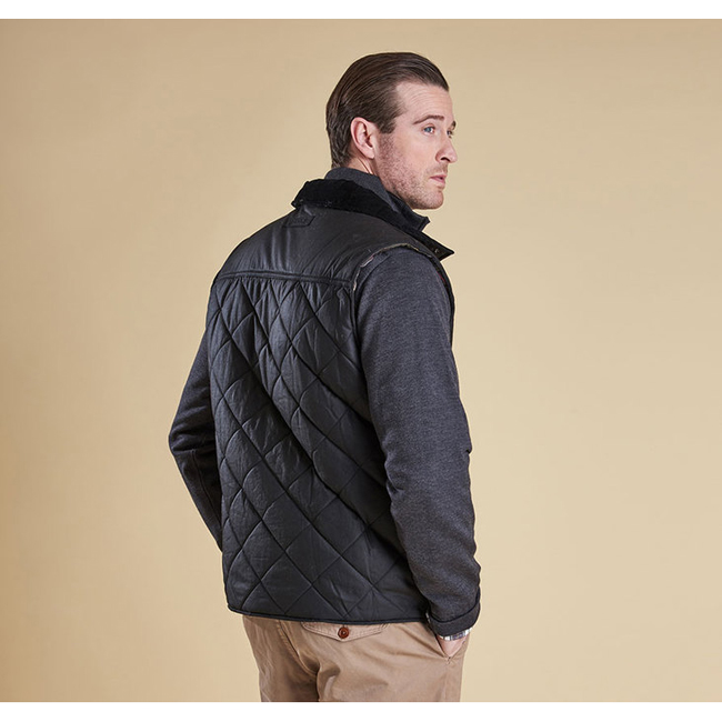 Barbour BOXLEY QUILTED GILET Men Black Outlet Store