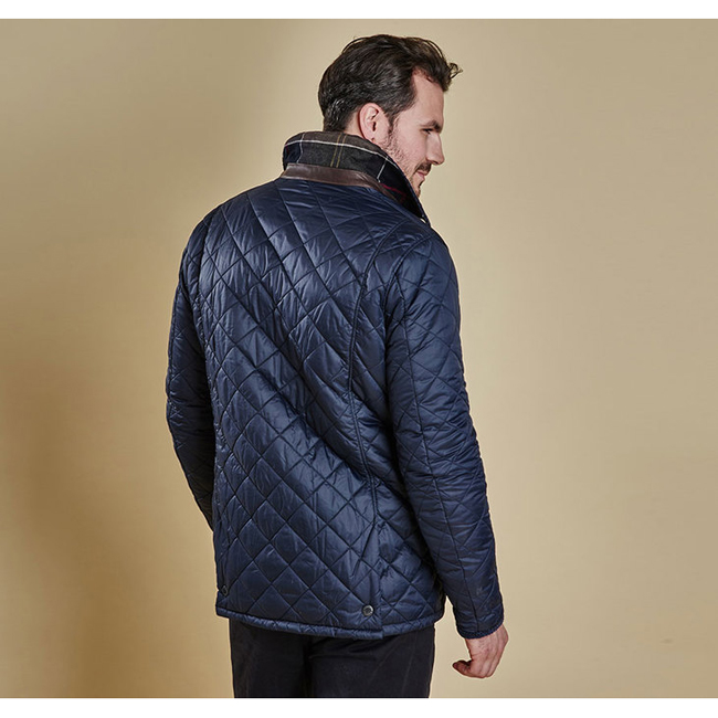 Barbour CANTERBURY QUILTED JACKET Men Navy Outlet Store
