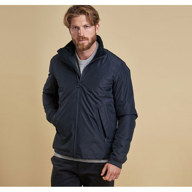 Barbour PEAK WATERPROOF BREATHABLE JACKET Men Navy Outlet Store