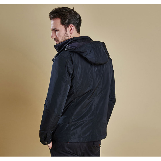 Barbour TULLOCH WATERPROOF JACKET Men Navy Outlet Store