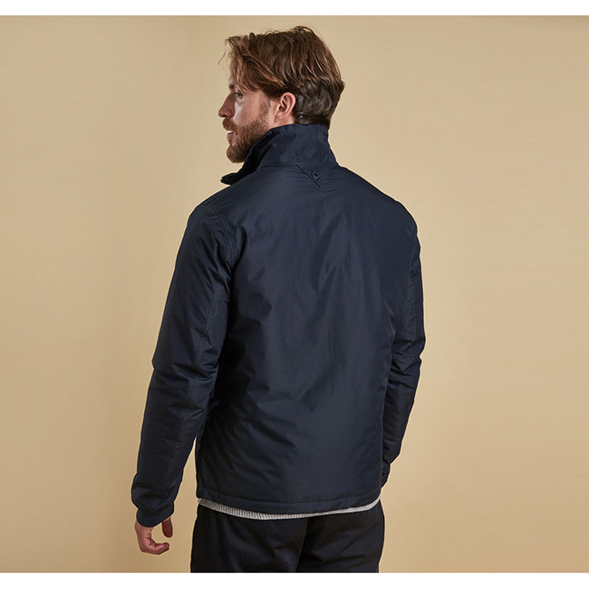 Cheap BARBOUR PEAK WATERPROOF BREATHABLE JACKET Navy Sale