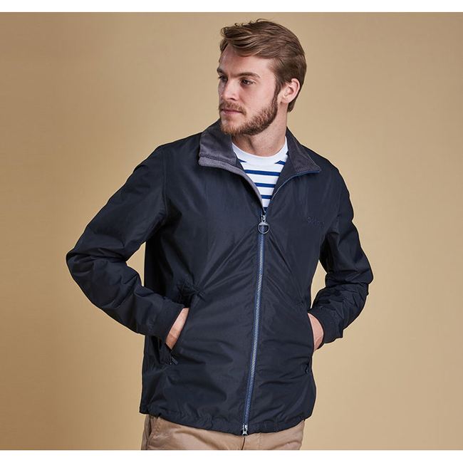 Cheap Barbour Men Navy ADMIRALITY WATERPROOF BREATHABLE JACKET Online
