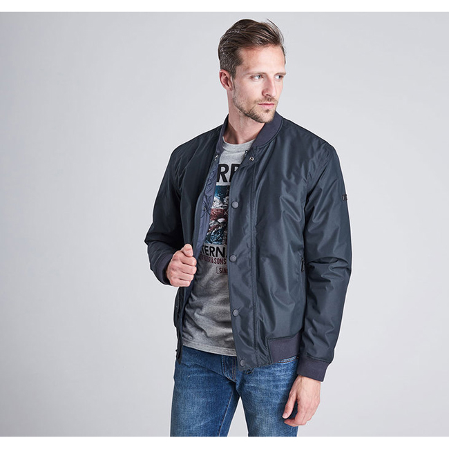 Barbour B.INTL GAINSBORO JACKET Men Black  Outlet Store