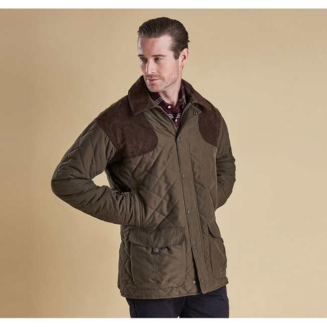 Barbour FULMAR WATERPROOF JACKET Men Dark Olive Outlet Store