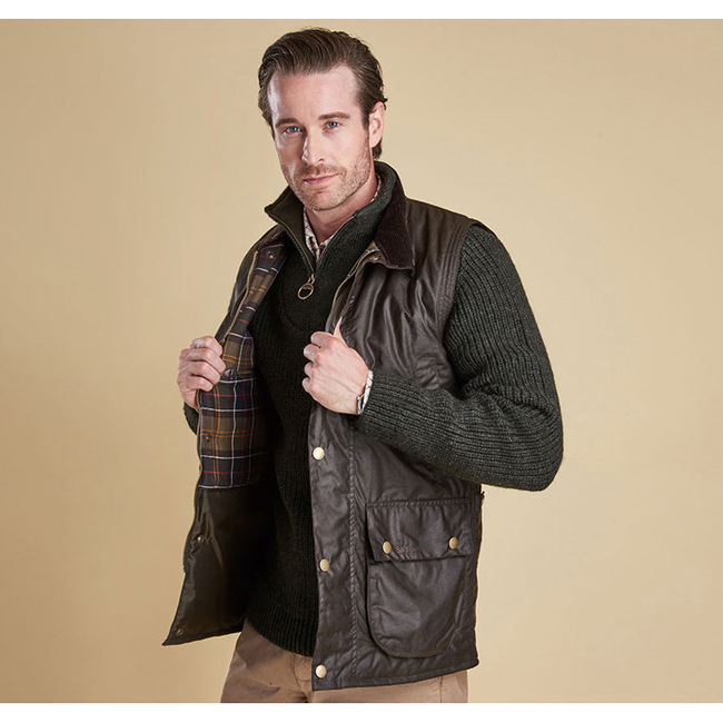 Cheap BARBOUR NEW WESTMORLAND BODY WARMER Olive Sale