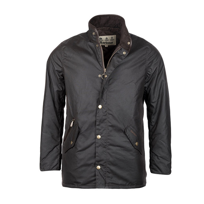 Cheap BARBOUR PRESTBURY WAX JACKET Rustic Sale