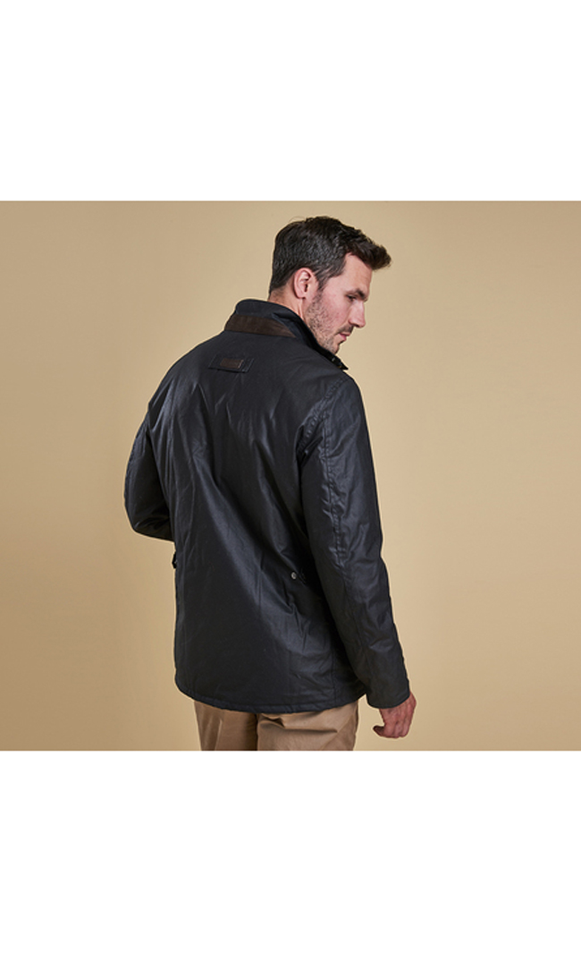 Barbour GUILLEMOT WAX JACKET Men Navy Outlet Store