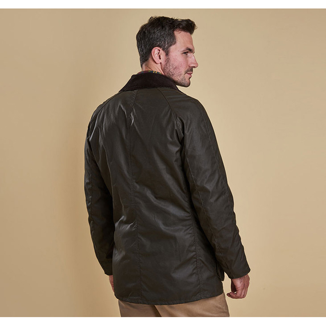 Barbour BRISTOL WAX JACKET Men Olive Outlet Store