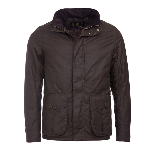 Cheap BARBOUR PORTAL WAX JACKET Peat Sale