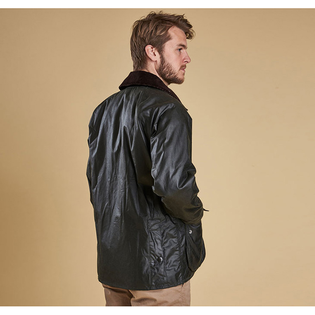 Barbour BEDALE WAX JACKET Men Sage Outlet Store