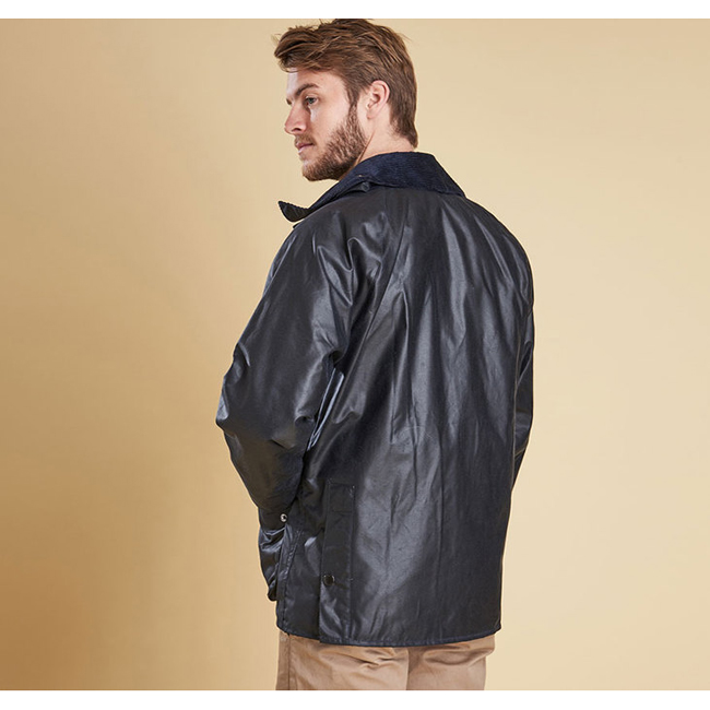 Barbour BEDALE WAX JACKET Men Navy Outlet Store