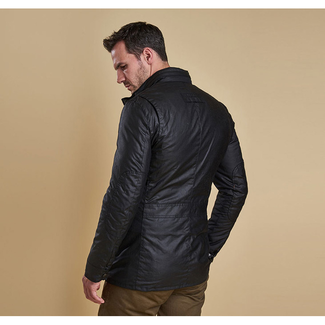 Cheap Barbour Men Black CORBRIDGE WAX JACKET Online