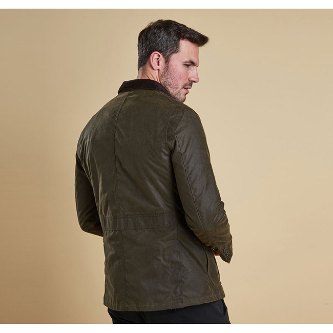 Barbour LUTZ WAX JACKET Men Olive Outlet Store