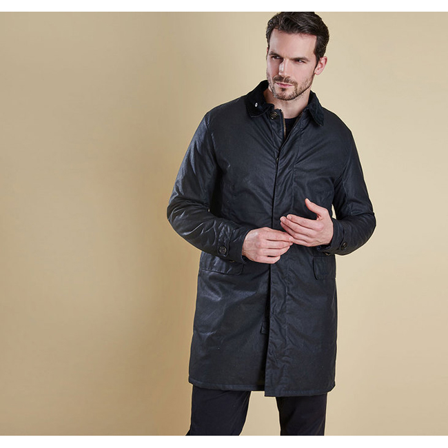 Cheap BARBOUR NAIRN WAX JACKET Navy Sale