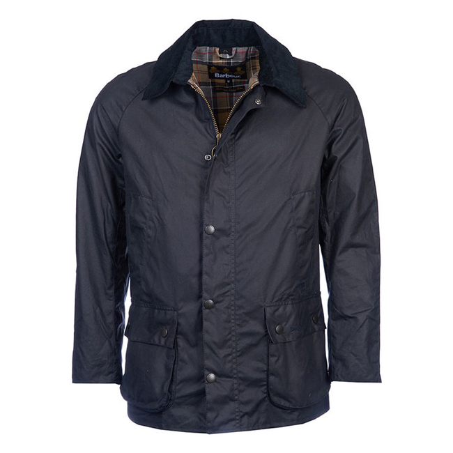 Barbour ASHBY WAX JACKET Men Navy Outlet Store
