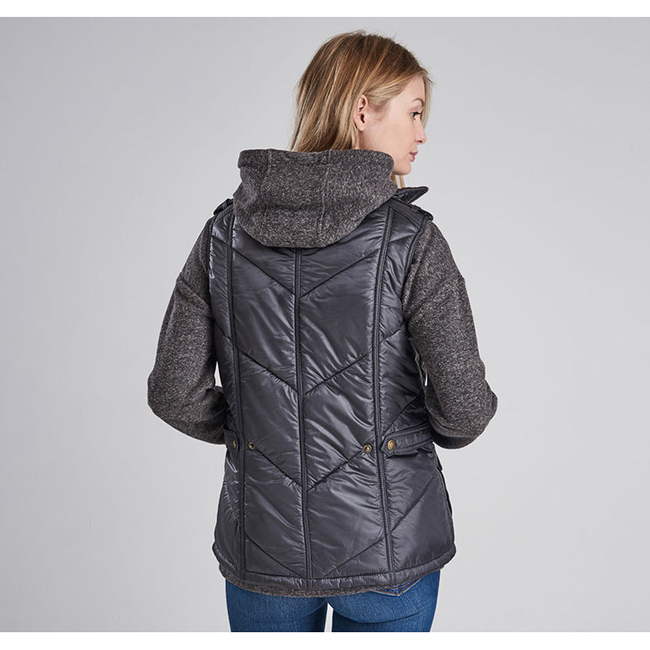 Cheap B.INTL CHICANE QUILTED GILET Ash Grey Sale