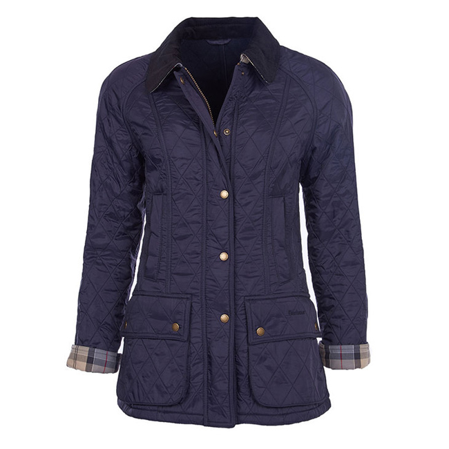 Cheap BARBOUR BEADNELL POLARQUILT JACKET Navy/Navy Sale