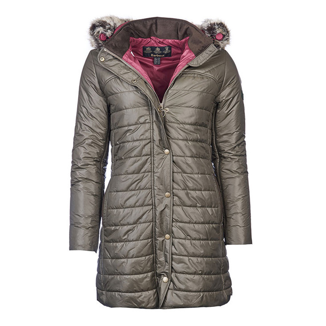 Cheap BARBOUR ROSSENDALE QUILTED JACKET Olive Sale
