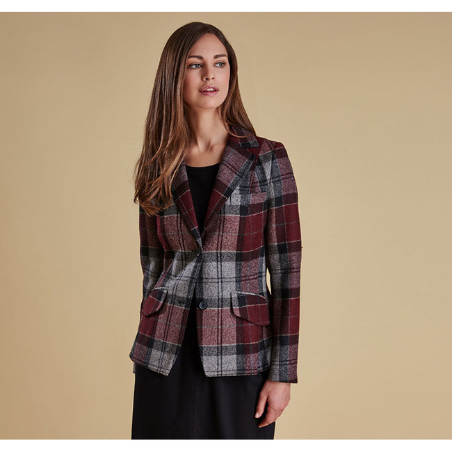 Cheap Barbour Women Port  BEAMAN TAILORED BLAZER JACKET Online
