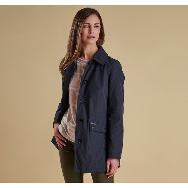 Cheap Barbour Women Black  EIGG WATERPROOF JACKET Online